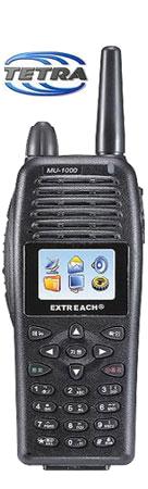 MU-1000 Tetra Portable Radio